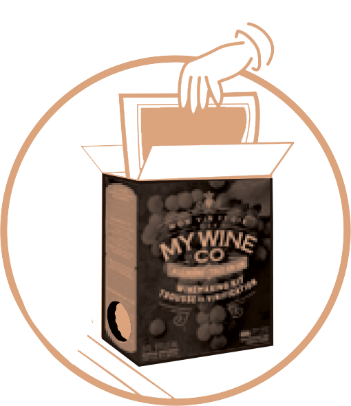 Wine making kit -  Final step icon